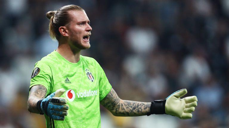 Loris Karius is currently on loan at Besiktas