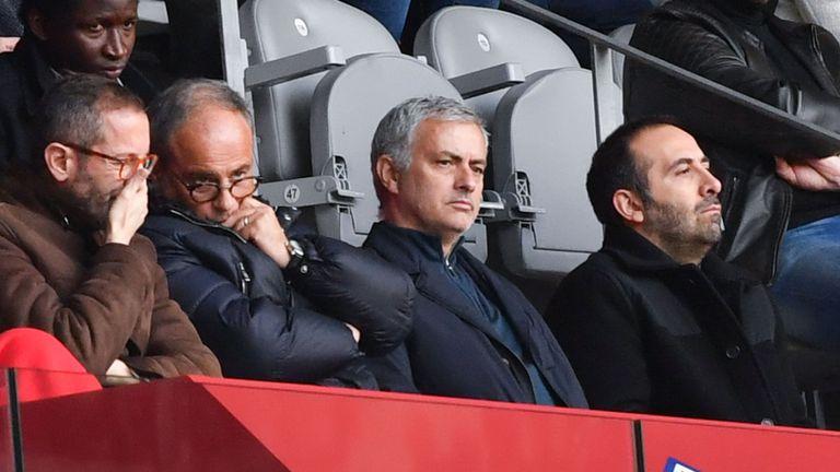 Jose Mourinho Luis Campos Lille