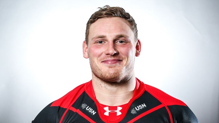Luke Menzies during his time with Salford