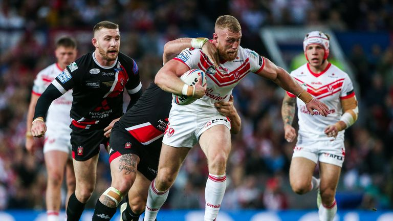 St Helens' Luke Thompson is also struggling with a rib injury