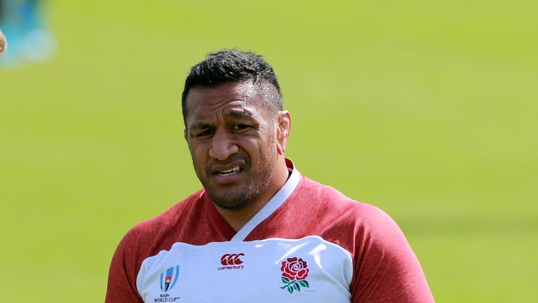 Mako Vunipola starts in the front row for England