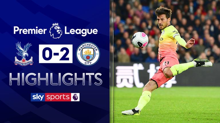 Crystal Palace 0-2 Manchester City