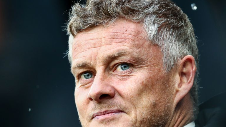NEWCASTLE UPON TYNE, ENGLAND - OCTOBER 06: Ole Gunnar Solskjaer, Manager of Manchester United looks on prior to the Premier League match between Newcastle United and Manchester United at St. James Park on October 06, 2019 in Newcastle upon Tyne, United Kingdom. (Photo by Jan Kruger/Getty Images)
