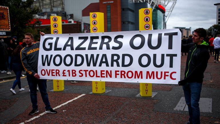 The tenures of Ed Woodward and the Glazer family have proved controversial for some of United's supporters