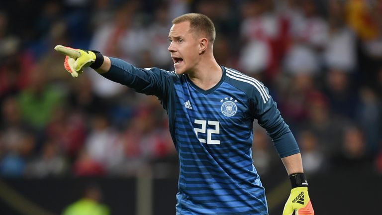 Ter Stegen has not been happy with the lack of game time he has had for Germany