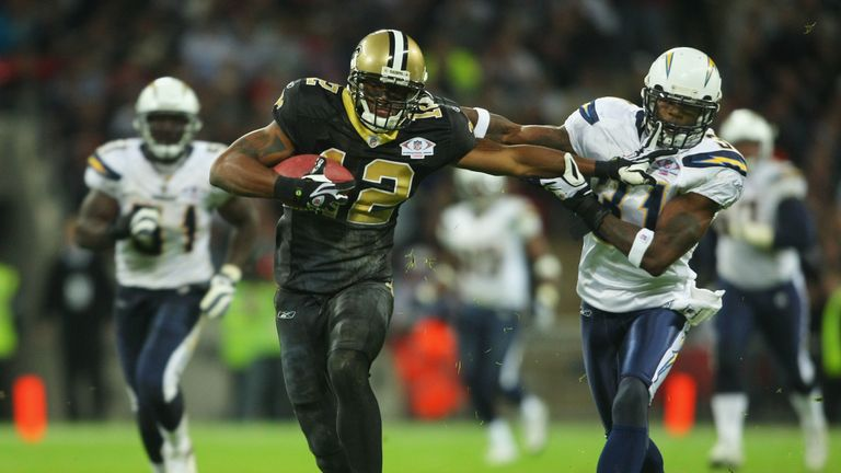 Marques Colston and the Saints won a back-to-back offensive game against the Chargers