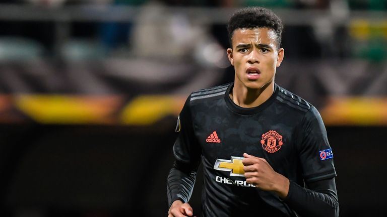 Mason Greenwood is just one of the youngsters who have come through the Academy system this campaign