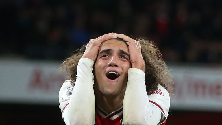 Matteo Guendouzi has had disciplinary problems recently