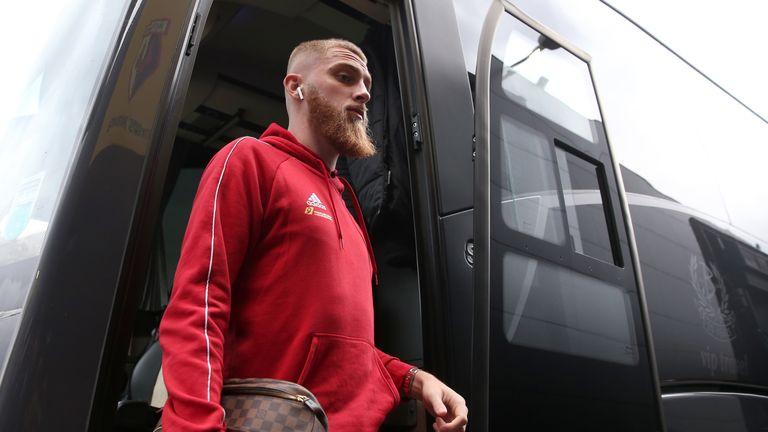 Oli McBurnie was due to return to the Sheffield United squad against Arsenal