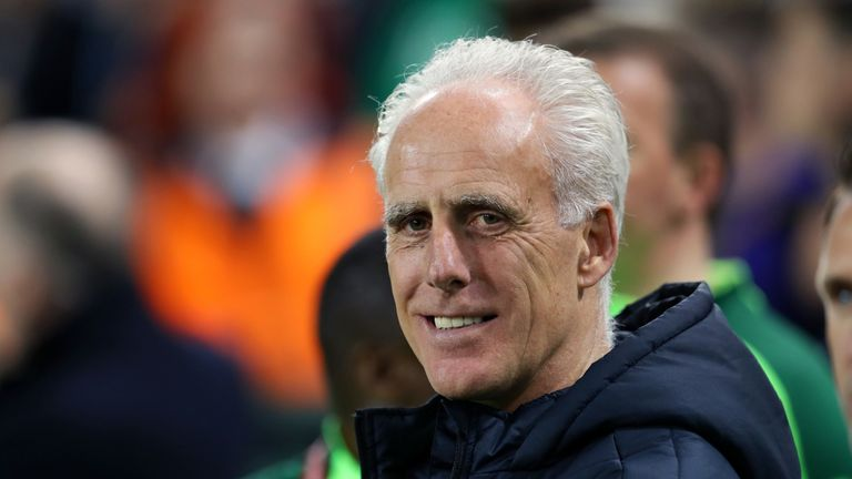 Mick McCarthy's Republic of Ireland face Georgia on Saturday