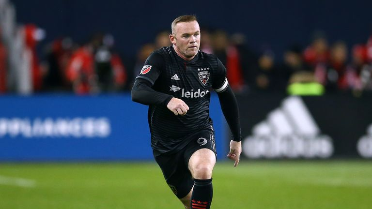 Wayne Rooney's final MLS game for DC United ended in a 5-1 defeat against Toronto FC.