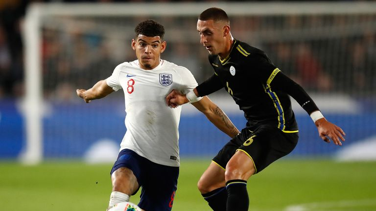 Morgan Gibbs-White is one of three players to have withdrawn from the squad
