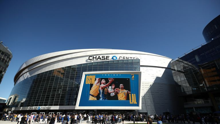 San Francisco Warriors have a brand new home for the upcoming NBA season - the $1.4 billion dollar state-of-the-art Chase Center.