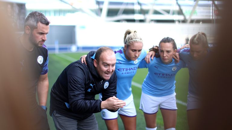 Nick Cushing recently left Man City Women for the MLS