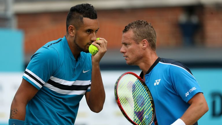 Nick Kyrgios strengthens Australia Davis Cup team, says Lleyton Hewitt | Tennis News |