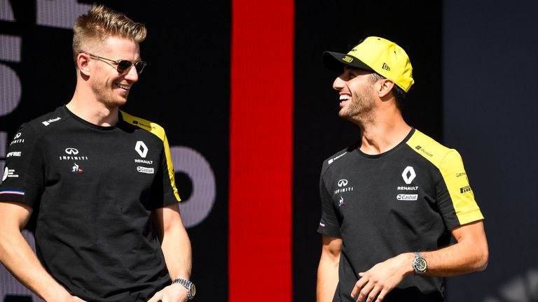Renault F1 2019 Nico Hulkenburg Driver T-Shirt