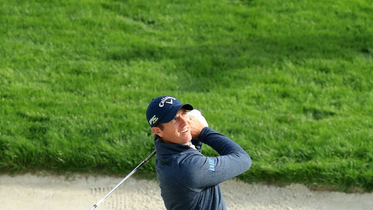 Nicolas Colsaerts shares the halfway lead in France