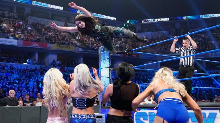 Nikki Cross put it all on the line in the battle for a SmackDown women's title shot - and it paid off