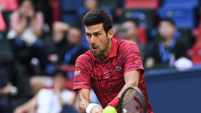 Novak Djokovic charges into the quarter-finals of the Shanghai Masters
