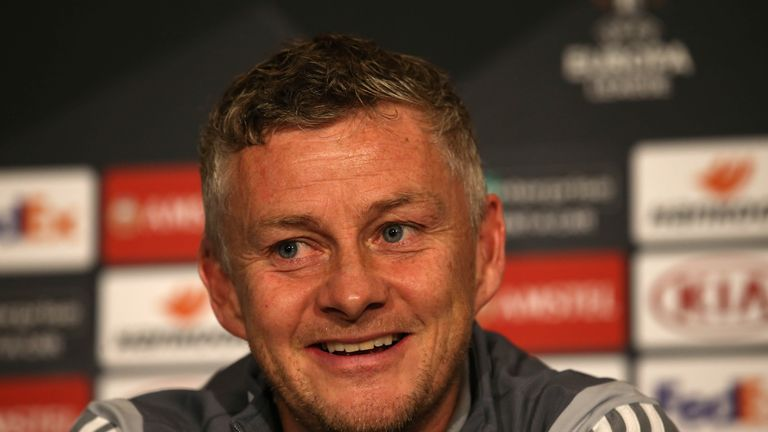 Solskjaer has urged United's younger players to seize their Europa League opportunities