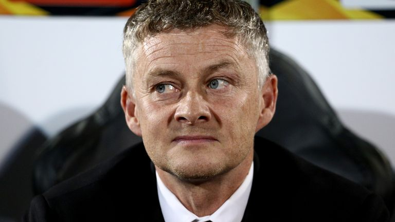 BELGRADE, SERBIA - OCTOBER 24: Manager Ole Gunnar Solskjaer of Manchester United prior the UEFA Europa League group L match between Partizan and Manchester United at Partizan Stadium on October 24, 2019 in Belgrade, Serbia. (Photo by MB Media/Getty Images)