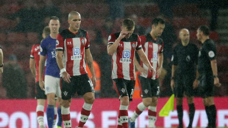 The 9-0 loss equalled the biggest defeat in Premier League history