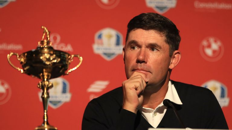 Harrington feels future Ryder Cups could be played on a 'neutral set-up'