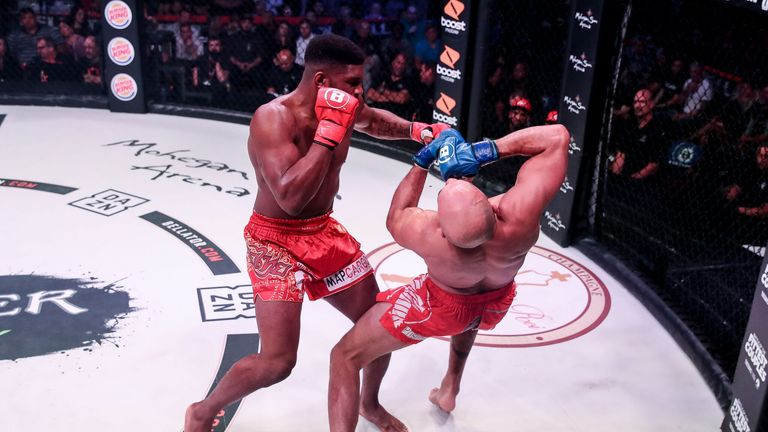 Paul Daley defeated Saad Awad via TKO