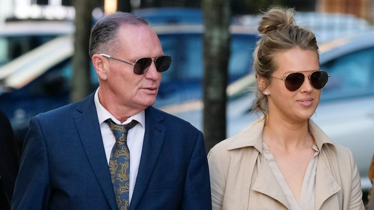 Paul Gascoigne cleared of sex assault but jury still considering beating charge