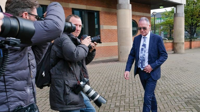Gascoigne has pleaded not guilty to sexual assault