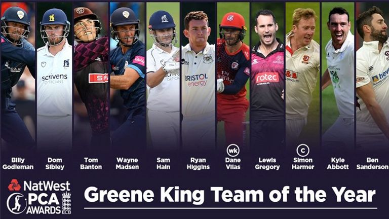PCA county cricket Team of the Year