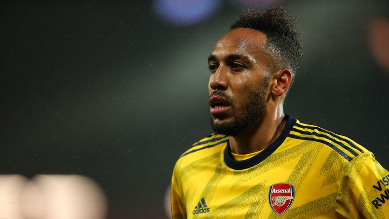 Pierre-Emerick Aubameyang joined Arsenal from Borussia Dortmund in January 2018