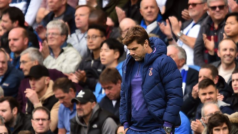 Mauricio Pochettino's side lost have lost their last two games by an aggregate score of 10-2