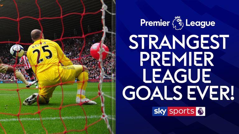 premier league strangest goals image