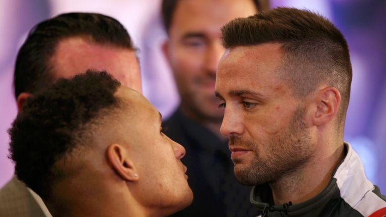Prograis vs Taylor: Regis Prograis and Josh Taylor argue at press conference | Boxing News |