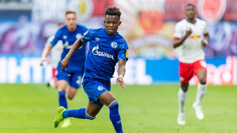 Rabbi Matondo scored his first senior goal last month
