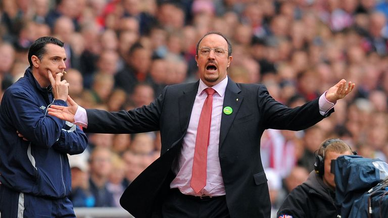 Rafa Benitez was more critical of his team's performance than the officiating after the game