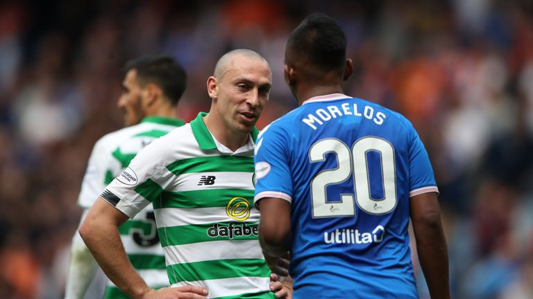 Celtic and Rangers are currently level on 28 points at the top of the SPFL table.