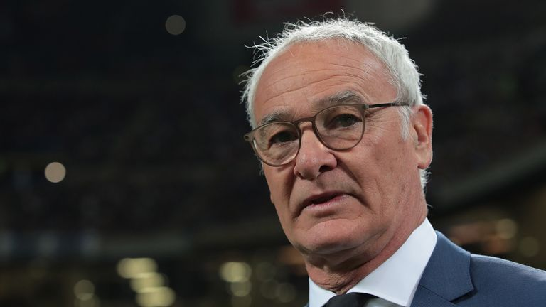 Claudio Ranieri will replace Eusebio Di Francesco for a second time in seven months