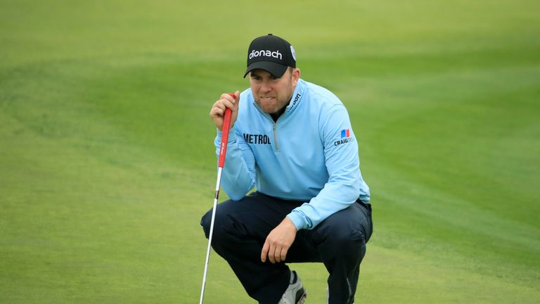 Richie Ramsay shares third after a 66