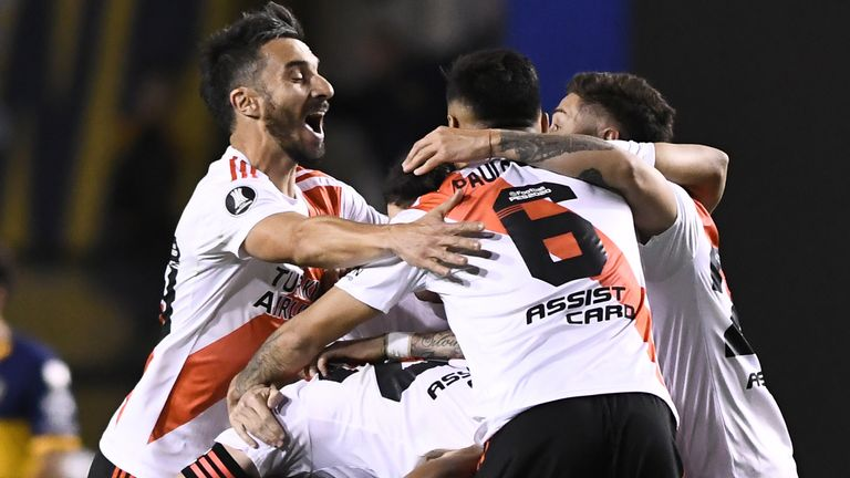 Copa Libertadores: River Plate lose to Boca Juniors but reach final