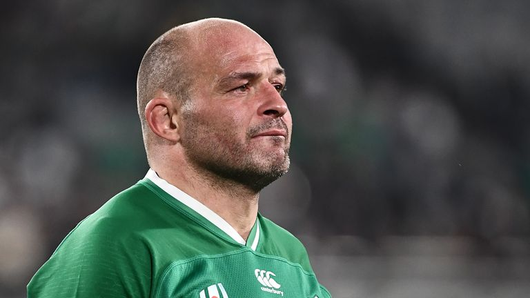 Rory Best cut a forlorn figure after Ireland's defeat