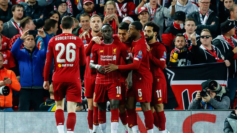 Sadio Mane score the opener but Liverpool were made to work for the win