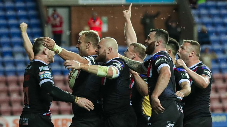 Watch highlights as Salford shocked Wigan to reach the Super League Grand Final