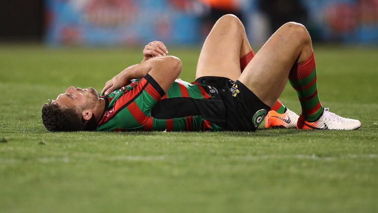 Burgess suffered the injury in the Rabbitohs' last game of the season