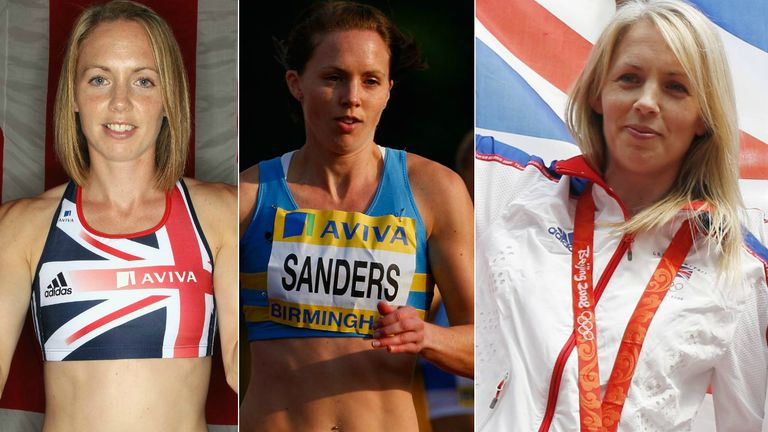Nicola Sanders won Olympic and World medals during her athletics career