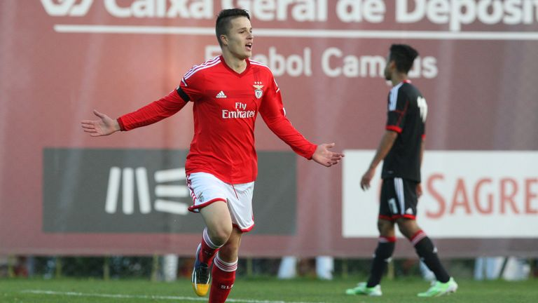 Sarkic joined Benfica from Anderlecht, being assigned to their youth team in 2014