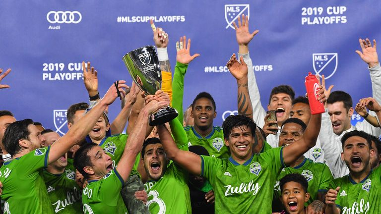 Seattle Sounders won the Western Conference with their victory and advance to the MLS Cup final (Pic: USA Today/MLSsoccer)