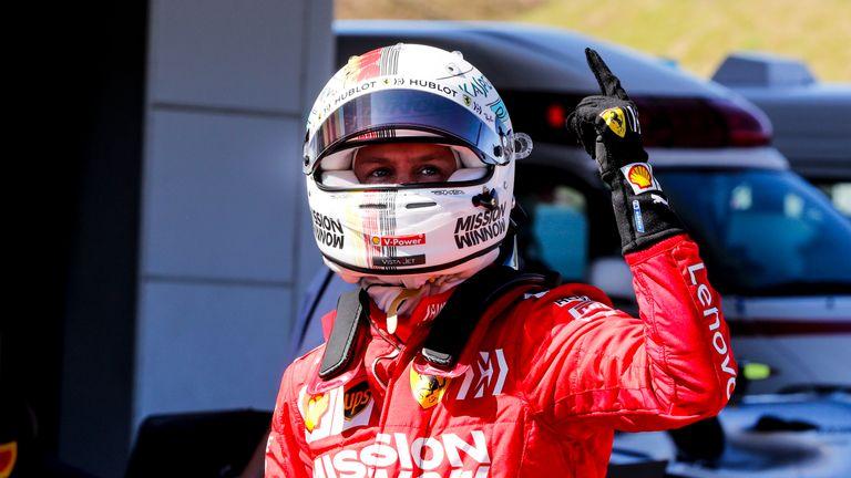 Japanese GP Qualifying: Sebastian Vettel takes superb Ferrari pole