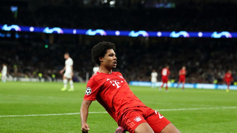 Spurs lost 7-2 to Bayern Munich in the reverse fixture in October